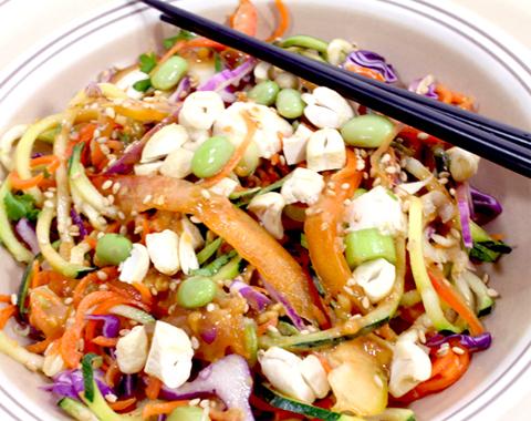 วิธีทำผัดไทยดิบวีแกน Raw Pad Thai Vegan